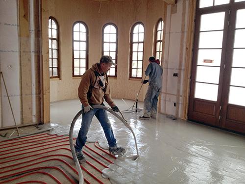 Floor Underlayments For Infloor Heating Bobcat amp Sun Inc